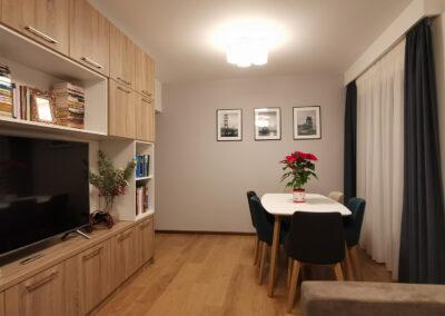 Apartament Moghioroș Park Residence – amenajare interioară