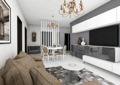 Apartament 3 camere în stil luxury – Onix Park