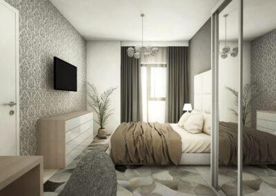 Apartament 2 camere în stil minimalist – Onix Park