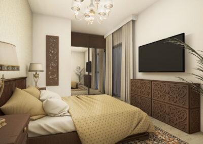 Apartament 2 camere în stil oriental – Onix Park