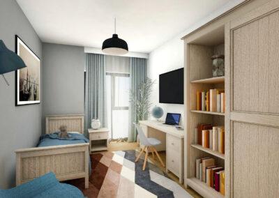 Apartament 3 camere în stil scandinav – Onix Park